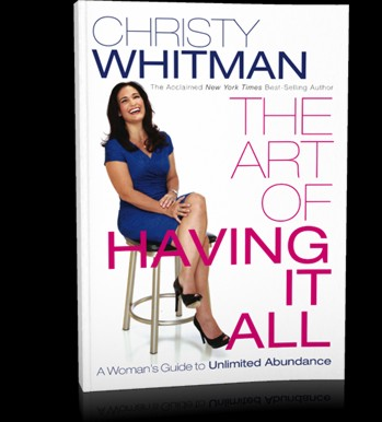 Christy Whitman - Art of Having It All - book